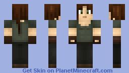 Katniss Everdeen [Hunger Games] Minecraft Skin