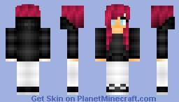 Kats Request~ White Skinny Jeans Minecraft Skin
