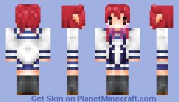 Keena Soga from Ichiban Ushiro no Daimaou Minecraft Skin