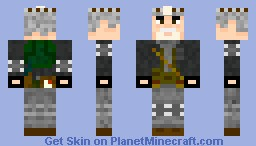 Khan from Metro 2033 Minecraft Skin