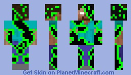 Scary don't u think Minecraft Skin