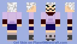 Killua Zoldyck Minecraft Skin