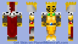 Golden knight Minecraft Skin