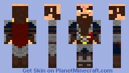 King_Thordal hurt in battle Minecraft Skin