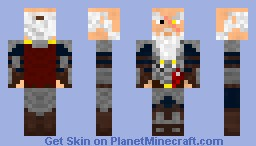 King_Thordal (Old, and hurt) Minecraft Skin