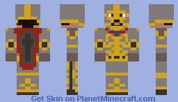 Medieval Warrior King Minecraft Skin