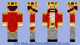 Kingly Man Version 2 Minecraft Skin