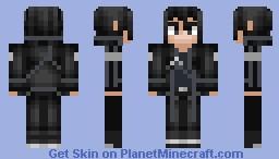 Kirito 2.0 Minecraft Skin