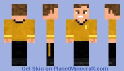 Kirk Minecraft Skin