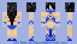Kitana - Mortal Kombat [ Contest Skin. ♥ ] Minecraft Skin