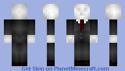 basicbrick's ~The Slender Man~ 20 subs WOOT Minecraft Skin
