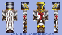 Knight - (New shading experiment) Minecraft Skin