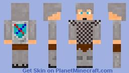 Wallen the Knight Minecraft Skin