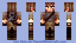 Remake of Knoble's first skin Minecraft Skin