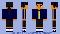 Koji Minamoto (Digimon) Minecraft Skin