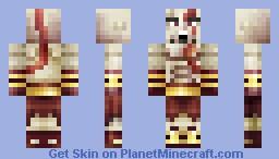 minecraft skin god of war