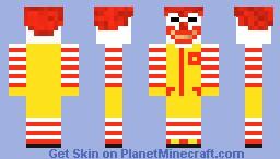 Ronald Mcdonald Weird Face Minecraft