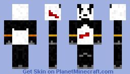 Kuma Panda Tekken Minecraft Skin