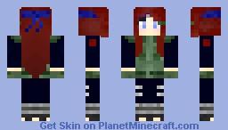 Kushina (Jounin) Minecraft Skin