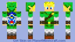 INPROVED LINK Minecraft Skin