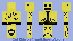 LMFAO Robot (better in 3D) Minecraft Skin