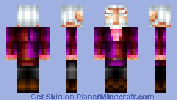 LORD SHEOGORATH. Minecraft Skin