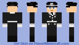 1. LSSAH Parade Uniform Offizier Minecraft Skin