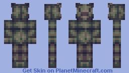 Teddy Bear [lantosyt's Palette Challenge] Minecraft Skin