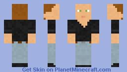 Lars Ulrich Minecraft Skin