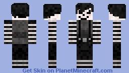 Laughing Jack [Creepypasta Series] Minecraft Skin