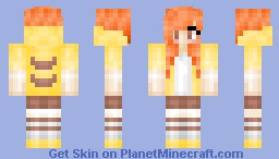 Pika Girl! ~Requested from lauren6413 Minecraft Skin