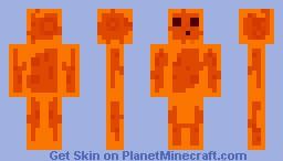 Lava Slime! Minecraft Skin