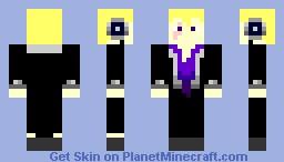 Laxus Dreyar Minecraft Skin