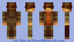 Layton (4x4) (3D's Contest) (For the Moment) Minecraft Skin