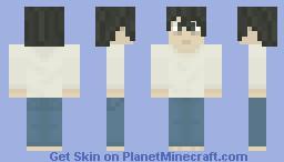Death Note : L Minecraft Skin