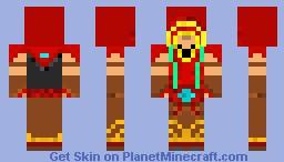 Lee Sin Minecraft Skin