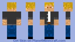 BlondeNormalGuy Minecraft Skin