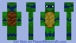 Leonardo Minecraft Skin