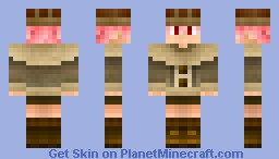My official personal skin, Leony Scarlet Minecraft Skin
