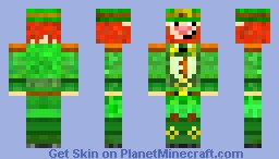 The Irish Leprechaun Minecraft Skin