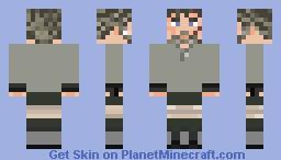 Liam Neeson The Grey Minecraft Skin