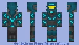 Neon Warrior Minecraft