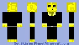 Lightening slime Minecraft Skin