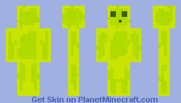 Lightning Slime! Minecraft Skin