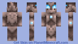 Treant Villager of the Leafless Tribe Minecraft Skin