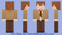 DeathNote : Light Yagami Minecraft Skin