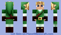 Link - The legend of Zelda: Ocarina of Time Minecraft