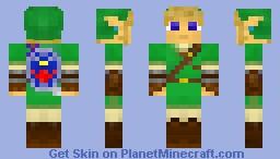 Link (The Legend of Zelda) Minecraft Skin