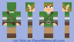 Link - Skyward Sword Minecraft Skin