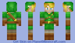 Link (Legend of Zelda) Minecraft Skin